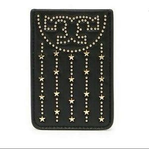 Tory Burch Fleming Stud Card Pocket Case NWT